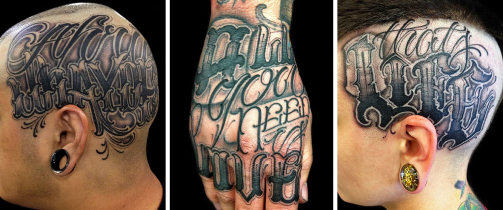 Big Meas – Lettering Tattoo Master